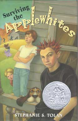 surviving the applewhites book cover image
