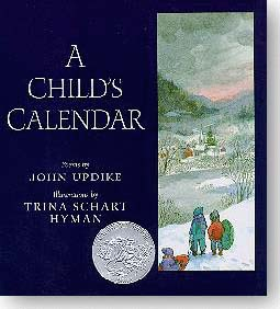 A Child's Calendar - book cover