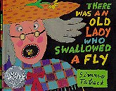 There Was an Old Lady Who Swallowed a Fly - book cover