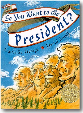so you want to be president? - cover