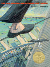 "cover image from ""the man who walked between the towers"""