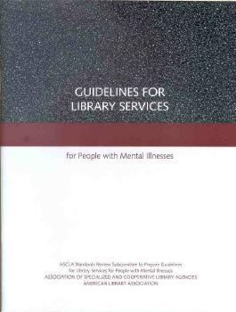 mental illness guidelines cover
