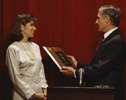 image of giving an award