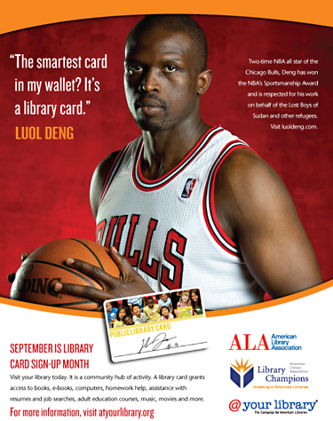 The smartest card in my wallet?  It's a library card.