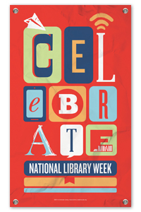 Banner: Celebrate National Library Week