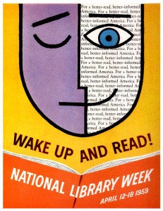 Wake Up and Read, National Library Week 1959