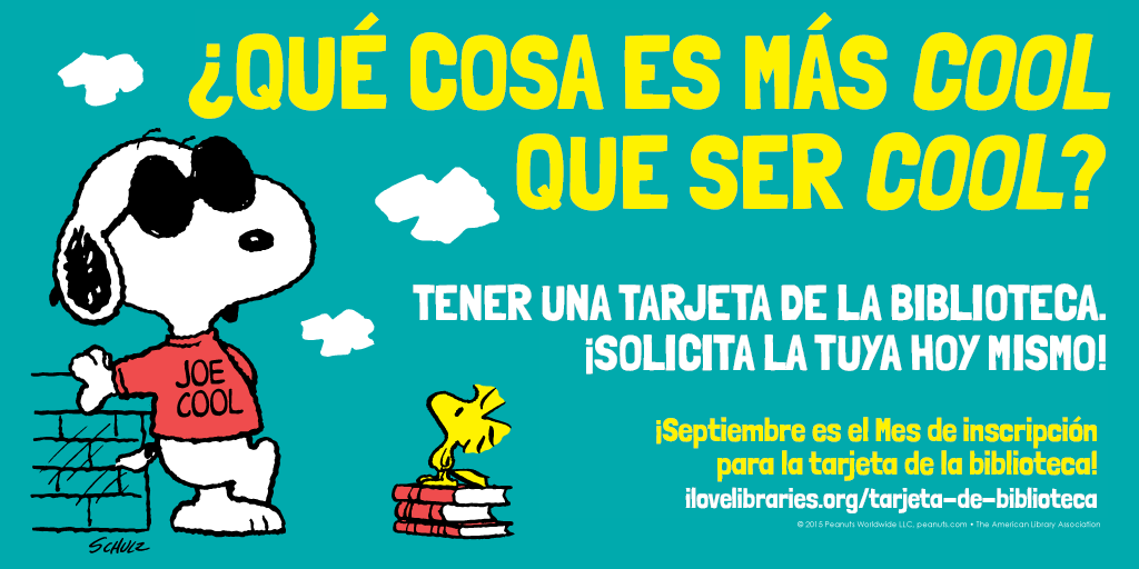 Spanish public service announcement featuring Snoopy
