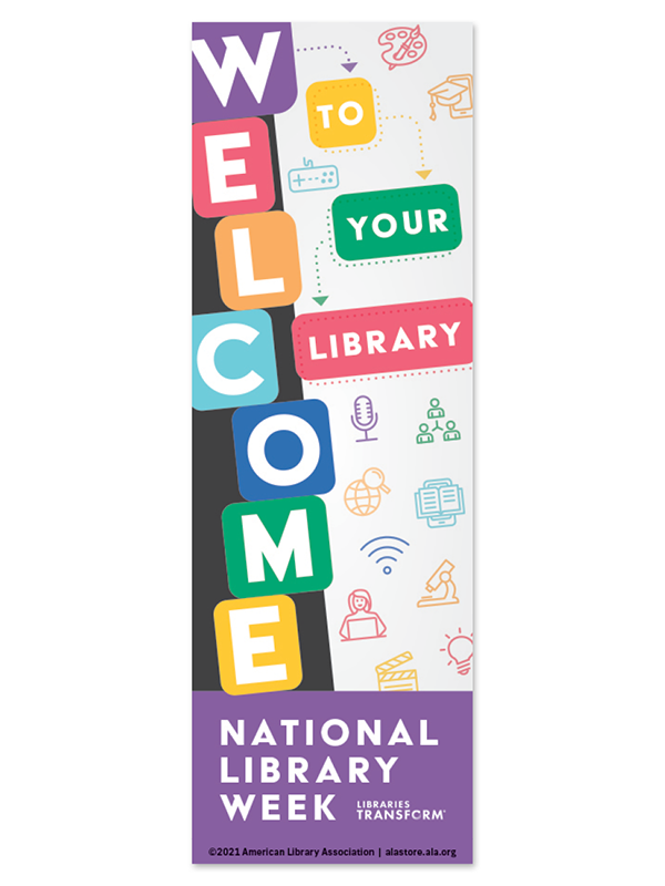 Bookmark: Welcome to your library