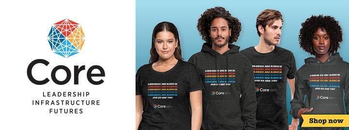 image of models wearing Core t-shirts and sweatshirts