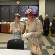 Downton Abbey Tea Party at the library