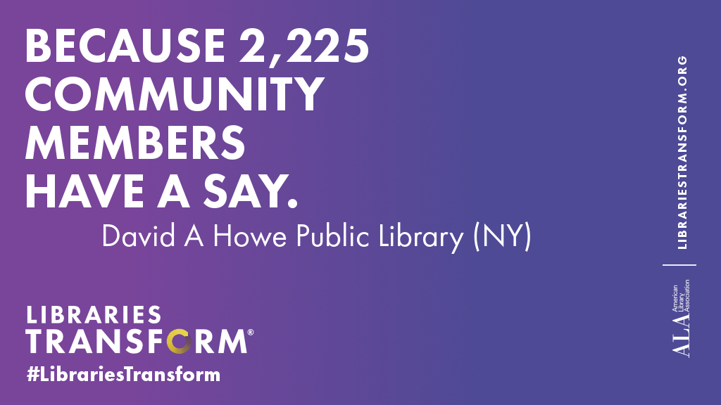 Because 2,225 community members have a say