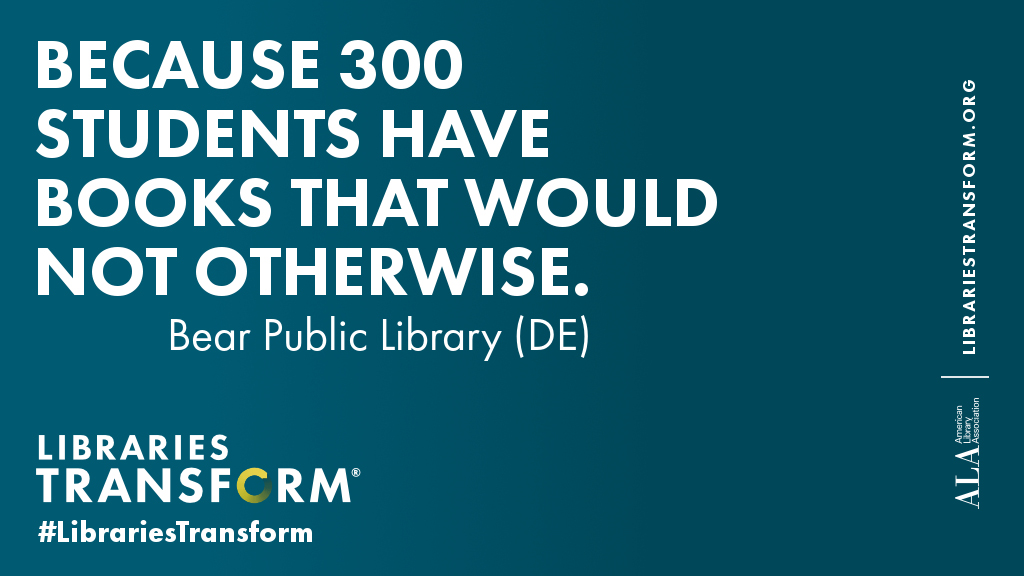 Because 300 students have books that would not otherwise