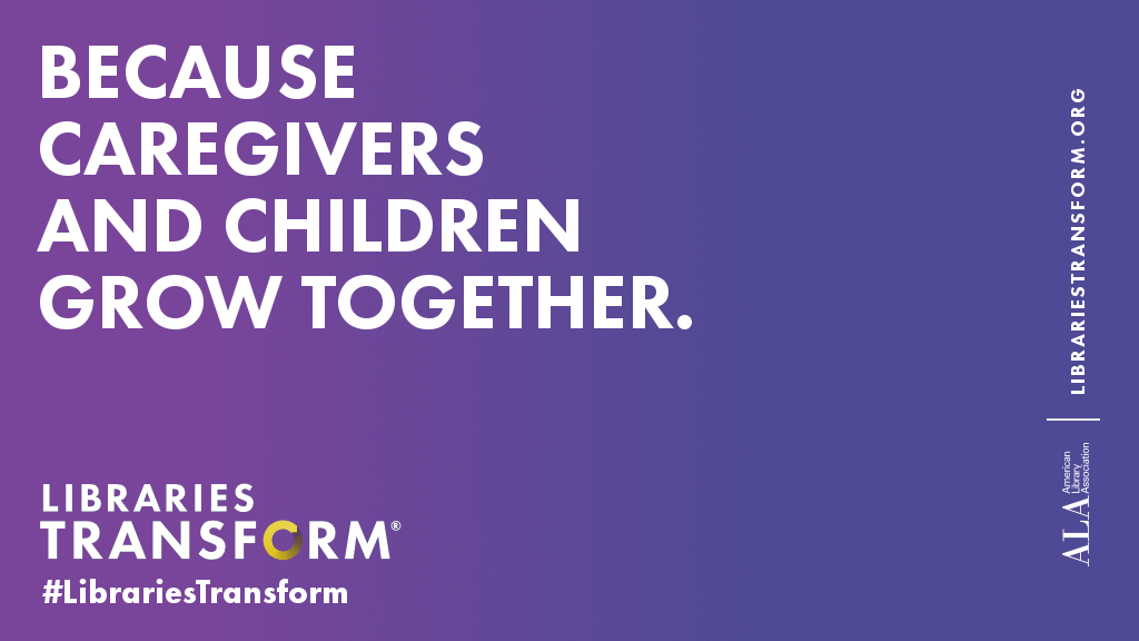 Because caregivers and children grow together