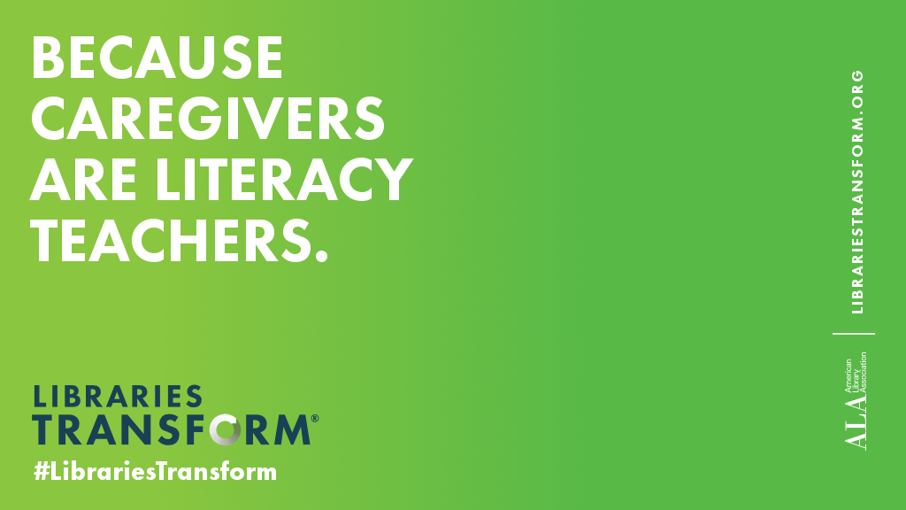 Because caregivers are literacy teachers