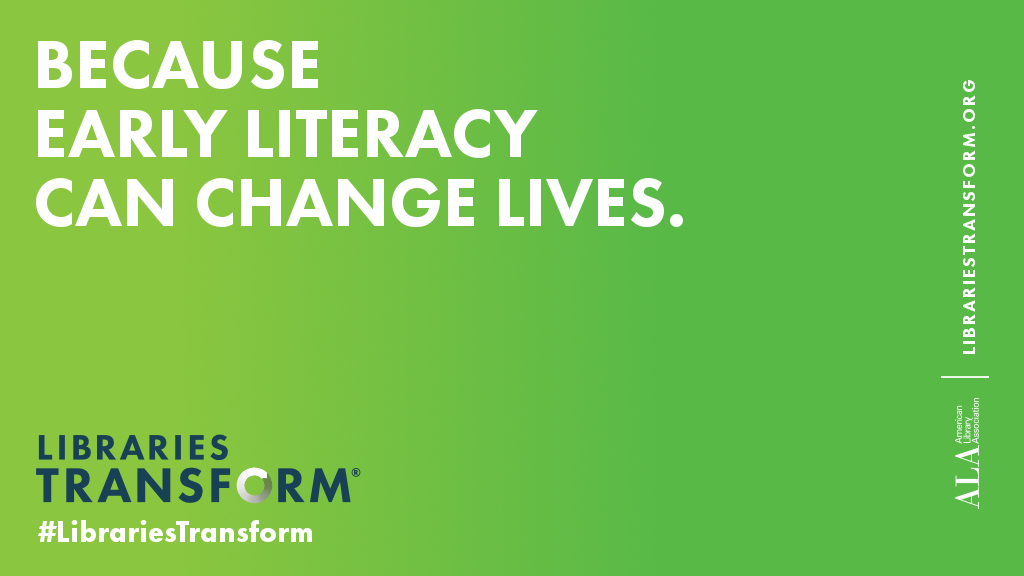 Because early literacy can change lives
