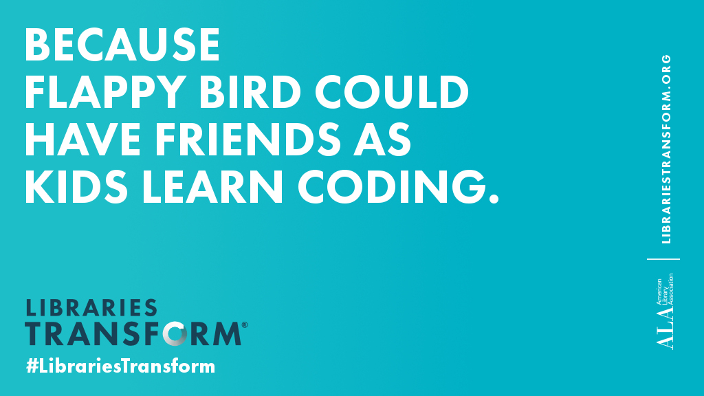 Because Flappy Bird could have friends as kids learn coding