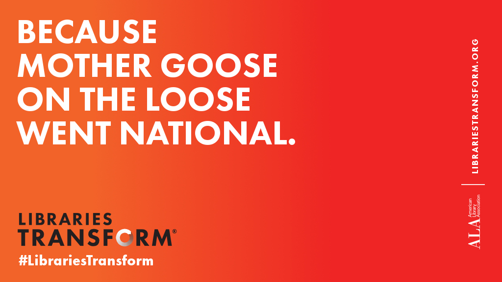 Because Mother Goose on the Loose went national