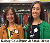 Photo of Kelsey Cole-Burns & Sarah Okner