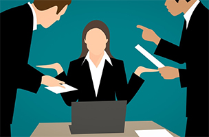 "Pixabay - ""Angry Businesswoman Conflict"""