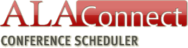 ALA Connect Conference Scheduler submit button