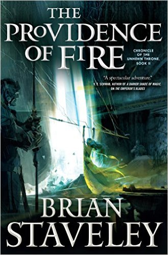 Read an excerpt from The Providence of Fire by Brian Staveley