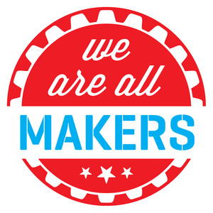 Blue Island Public Library (IL) Makerspace logo