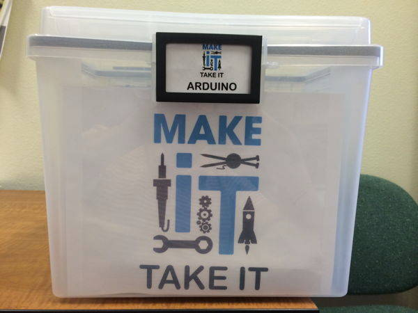 Arduino Kit - Make It Take It Program