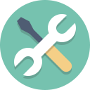 tools icon from iconfinder, gpl form Nick Roach, http://www.elegantthemes.com/