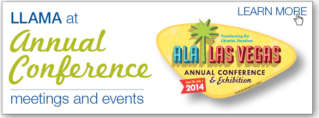 LLAMA at Annual Confernece 2014 meeting and events logo