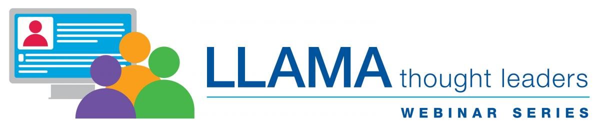 LLAMA thought leaders webinar series logo