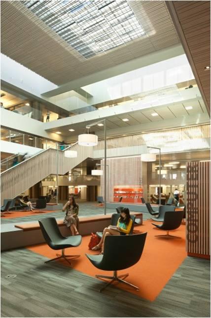 Ala iida library interior design award library for Interior decorating jobs calgary ab