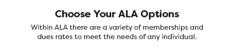Choose your ALA Options