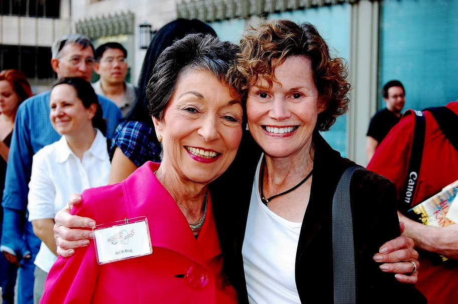 judith krug and judy bloom