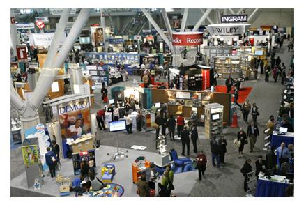 exhibits at an ala conference