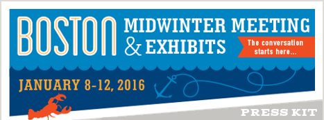 Boston Midwinter Meeting and Exhibitions, January 8-12, 2016, Press Kit
