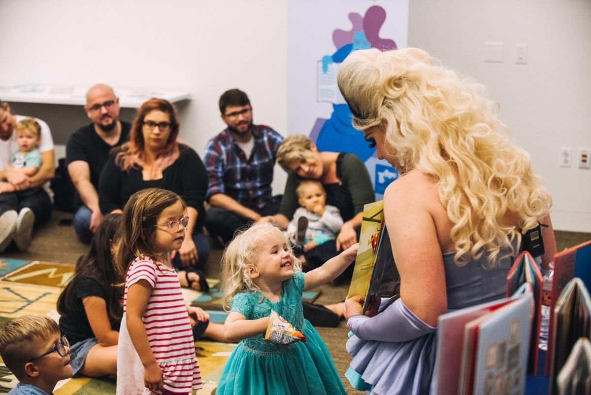 Drag Queen Story Hour at West Hollywood (Calif.) Library.