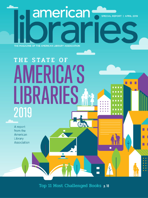 State of America's Libraries 2019, a report from the american library addociation, top 11 most challenged books