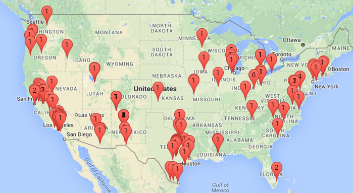 Map of US with participating libraries [link to]