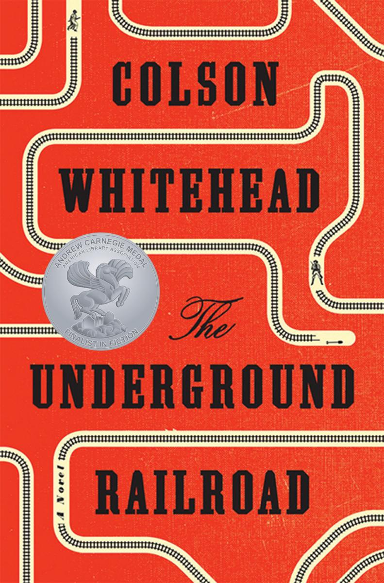 Book cover:The Underground Railroad