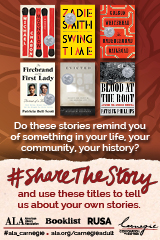Do these stories remind you of something in your life? #Sharethestory and use these titles to tell us about your own stories.