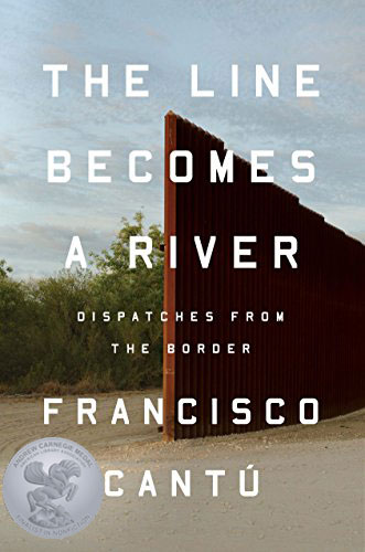 Book cover: The Line Becomes a River