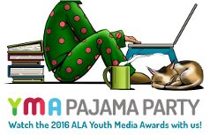 Watch the 2016 ALA Youth Media Awards with us!