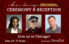 Andrew Carnegie Medals for Excellence Ceremony and Reception, Join us in Chicago, June 24, 8-10 pm,sponsored by Novelist
