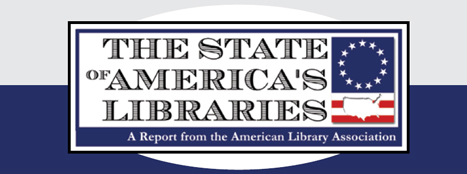state of america's libraries report logo