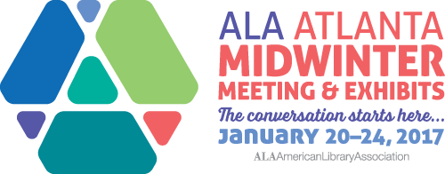 2017 ALA Midwinter Meeting & Exhibits Logo