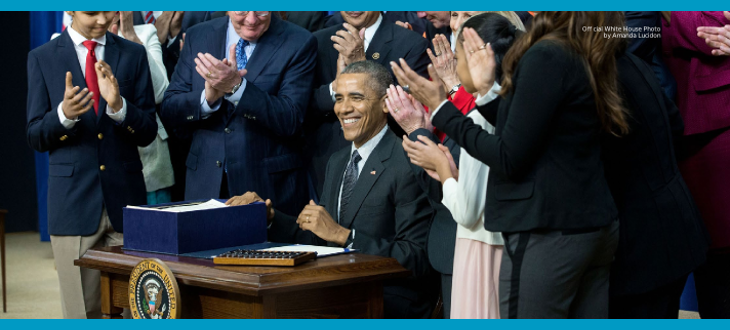 President Obama signs the Every Students Succeeds Act