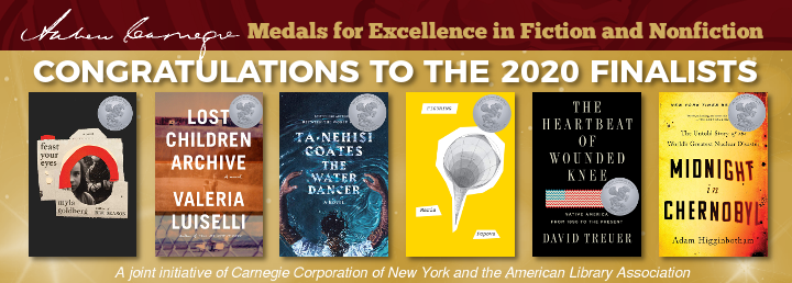Best Non Fiction Books 2020.Andrew Carnegie Medals For Excellence In Fiction
