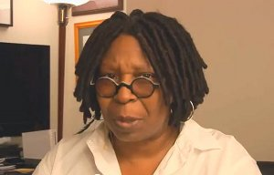 Screenshot: Whoopi Goldberg video for 2011 Banned Books Week Virtual Read-Out