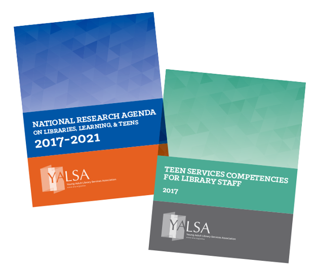 Report covers: YALSA National Research Agenda on Libraries, Learning and Teens; and Teen Competencies for Library Staff