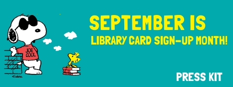 Library Card Sign-up Month Press Kit